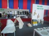 Công ty Thêu Việt chuyên cung cấp chăn ga gối rèm thêu tham gia hội trợ triển lãm quốc tế VIETBUILD