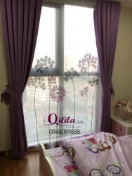 Rèm thêu nghệ thuật - Qilila