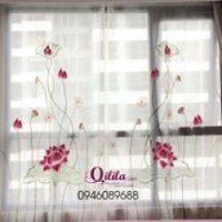 Rèm thêu nghệ thuật Quilila